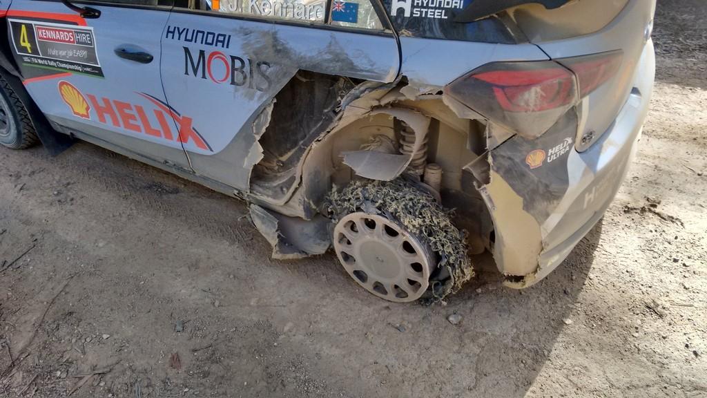 Хейдън Падън и неговият Hyundai i20 WRC