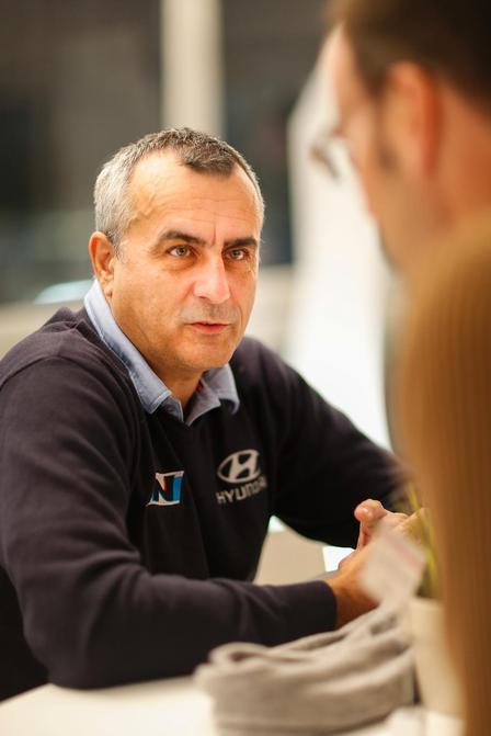 """Ален Пенасе, директор на рали """"Ипър"""" и мениджър на отборът на Хюндай във WRC"""